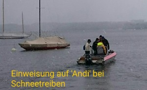 Motorbootschulung